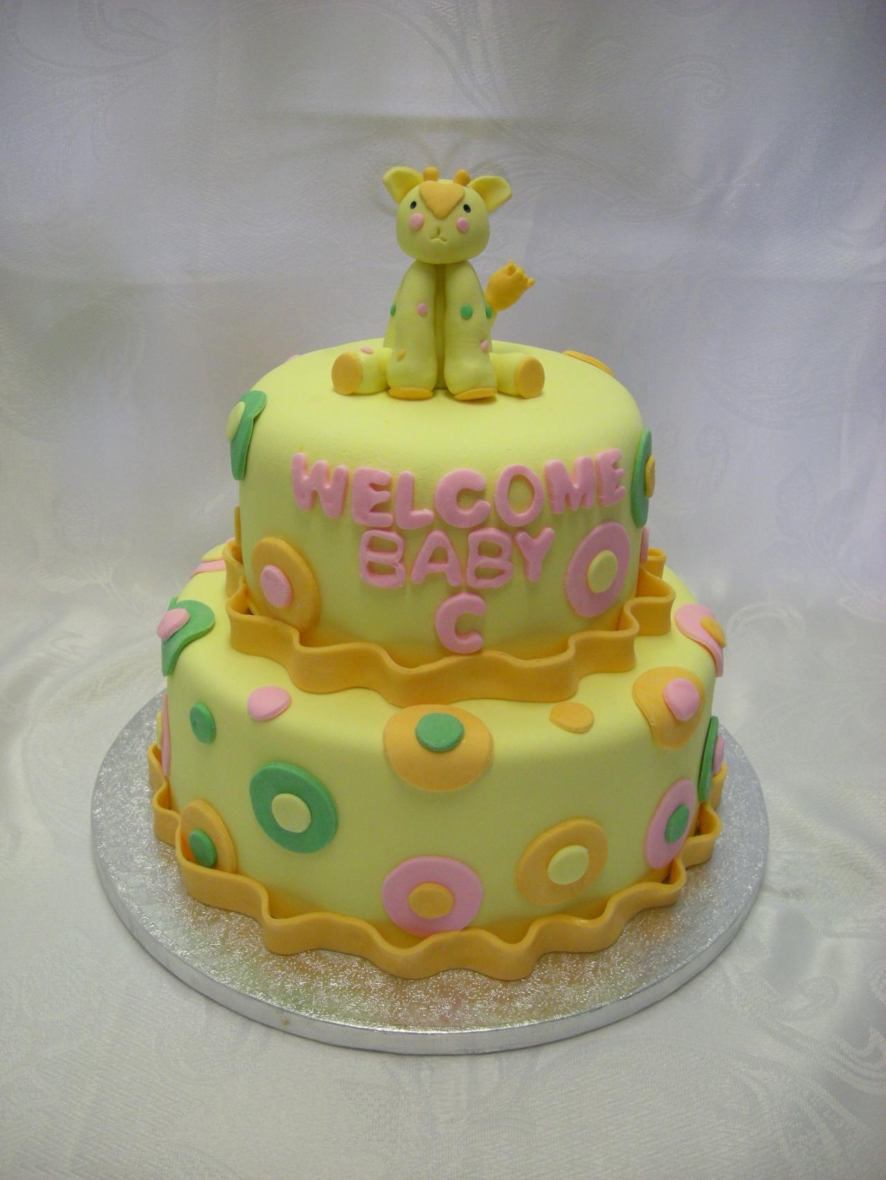 My Goodness Cakes - Baby Shower Cake Gallery